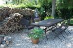albertine bed and breakfast garden
