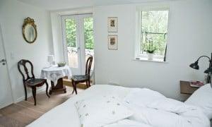 Zimmer 1 am unterkunft am Bed und Breakfast Hotel Albertine nahe Roskilde und Kopenhagen